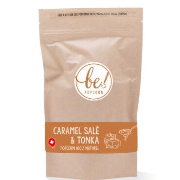 bepocorn packaging caramel tonka transparent 370x370 - CARAMEL SALÉ & FÈVE DE TONKA