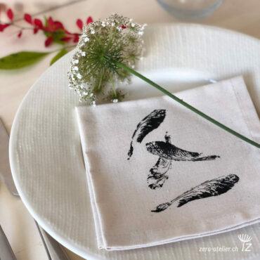 zera atelier produits serviettes erable1 370x370 - Serviette Coton